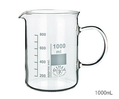 Simax (Pyrex Equivalent) Glass Mix & Measure Jug Beaker 250Ml Laboratory Pack 6