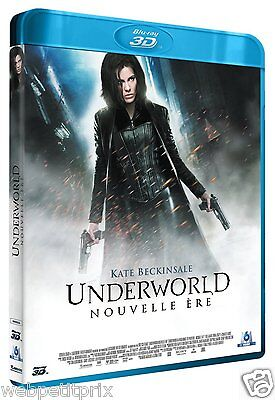 Underworld Nouvelle Ere  Blu-Ray 3D Active  -Vf -Neuf