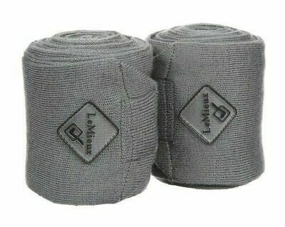 Le Mieux Long Knitted Support Horse Pony Stable Bandages - Set of 2