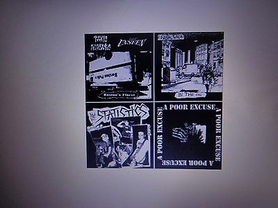 Rare Cd 5 Punk Bands Toxic Narcotic Global Threat Unseen Poor Excuse Statistics