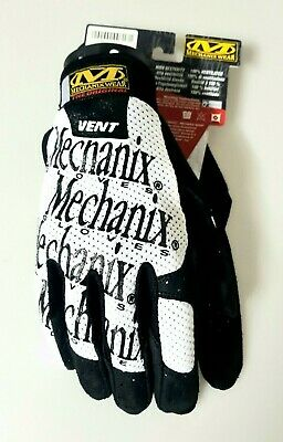 Guantes Mechanix Original Vent Blanco Talla Xl, Perforated Work Gloves, Crossfit