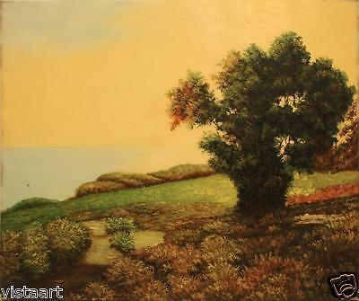 """Oil Painting On Stretched Canvas 20""""x 24""""- Lush Landscape"""