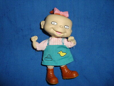 """Rugrats Twin Lil Deville in Brown Boots Plush & PVC 4.5"""" Doll"""