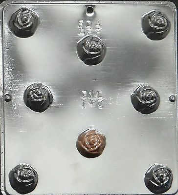 Rose Covered Cherry Chocolate Candy Mold Candy Making 147 NEW