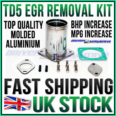 Land Rover TD5 Defender Discovery EGR Removal Kit Aluminium Performance Upgrade