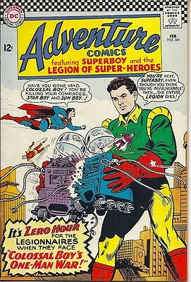ADVENTURE COMICS #341 SUPERBOY, Triplicate Girl becomes Duo Damsel, LEGION