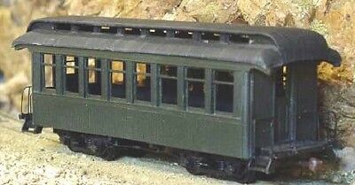 On3/On30 WISEMAN SM-112 REALLY SHORT OPEN PLATFORM COACH PASSENGER CAR KIT