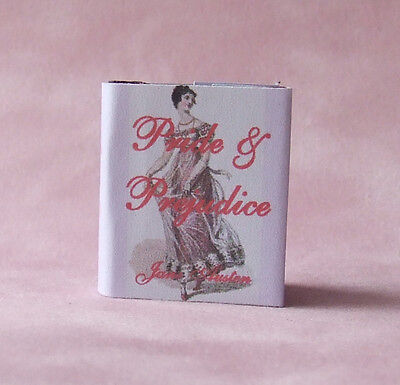 Dollshouse Miniature Book - Pride & Prejudice