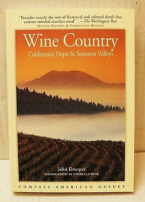 Wine Country by John Doerper Compass American Guides (1998, Paperback)