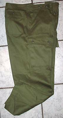 Australian Army Green Jungle Pants  Vietnam War - Reproduction New Made