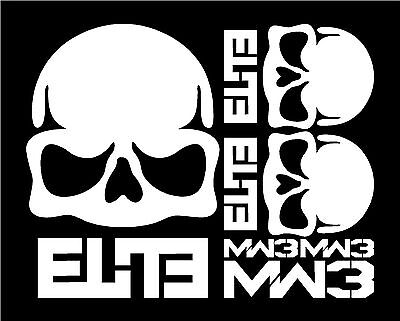CALL OF DUTY - ELITE DECALS ASSORTMENT MW3