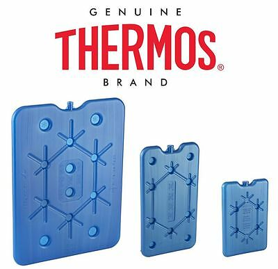 Thermos Cool Bag Freeze Board/Ice Pack Verious Travel Sizes 200g ,400g,800g New
