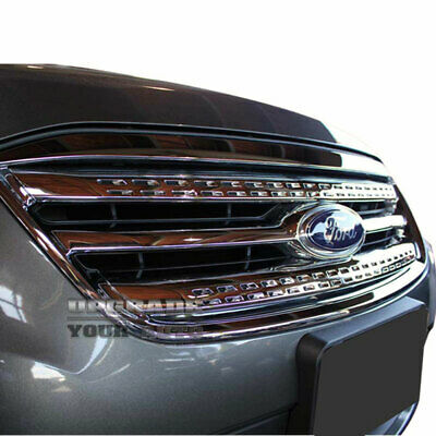 2010-2012 Ford Taurus 2pc Chrome Grille Insert 'Factory Style'