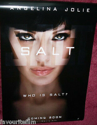 Cinema Poster: SALT 2010 (Advance One Sheet) Angelina Jolie Liev Schreiber