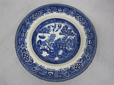 Old Willow Alfred Meakin England Blue White Shallow Bowl Candy Dish
