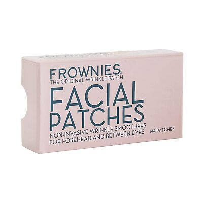 New FROWNIES Wrinkle Remover Facial Pads Forehead and Between Eyes 144 patches