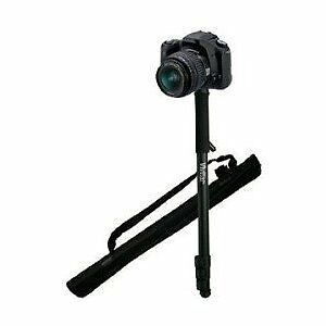 "Vivitar 67"" Photo/Video Monopod With Case For Canon Powershot ELPH 510 500 HS"