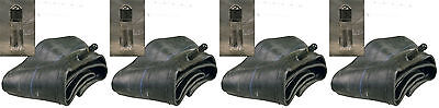 Set of 4  Multi Fit Lawn Mower Tire Inner Tubes 18x8.50-8 20x8.00-8 20x10.00-8