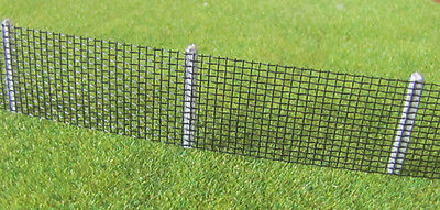 Security Fencing Kit HO Scale - Black # SMHOF002