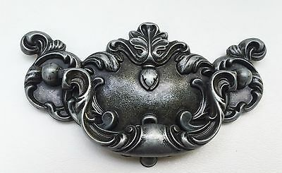 Silver Country French Prov Chippendale Antique Hardware Drawer Pull 3 3/4 center