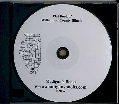 Williamson Co Illinois IL plat genealogy Marion land owners history