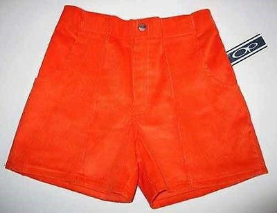 new old stock op shorts orange size 40