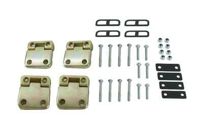 Land Rover Defender Rear Doors Hinges & Bolts Complete Kit Bearmach Bk0351
