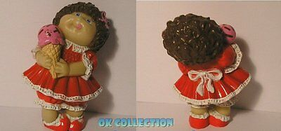 CABBAGE PATCH KIDS - ICE RED DRESS (Hong Kong 1984) - personaggio pvc 6 cm (41)