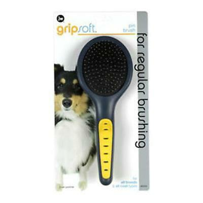 JW Pin Brush Deshedding Finishing Small Large Dog Puppy Grooming Coat Care