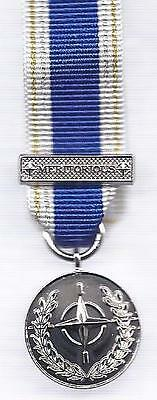Miniature Medal -  Nato Meritorious Service Medal