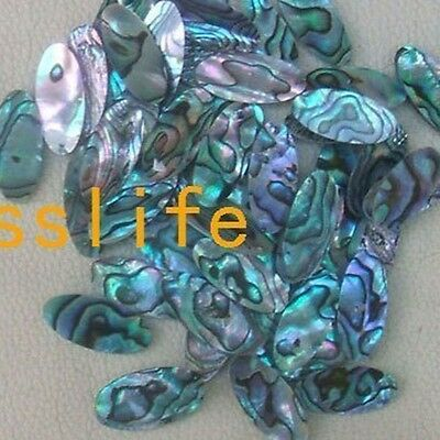 10 pcs alto saxophone finger button pearl real abalone shell size 24.5x11mm oval