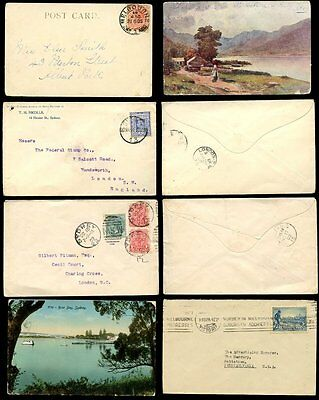 Australia 1902-1934...5 Items...covers + Cards