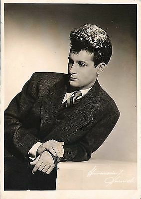 WILLIAM KAPELL - Original Vintage Photograph by ANNEMARIE HEINRICH 1940's