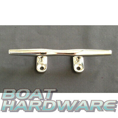 "Boat Cleat 125mm 5""  Mooring Bollard Slimline Horn 316 Stainless Steel Yachts"