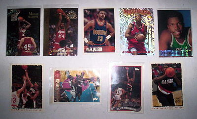 Superbe Lot 9 Cartes Basket Nba Special Topps
