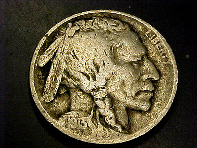 FREE SHIPPING RARE 1913 P TYPE 1 INDIAN Buffalo Nickel VF- BUY IT NOW OR OFFER
