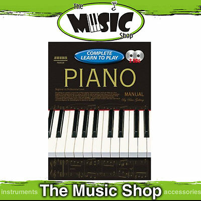 Progressive Complete Learn To Play Piano Manual - Book & 2 CD Package -224 Pages