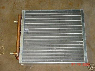 OUTDOOR WOOD FURNACE Boiler Heat Exchanger 12x12 / USA MADE WATER TO ...