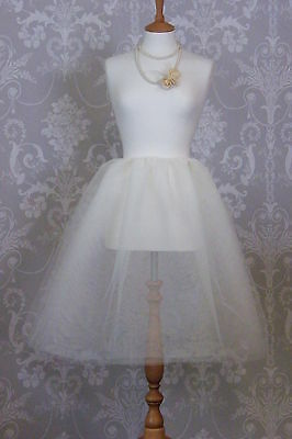 """Give it some Omph!Net PetticoatProm,Wedding,27""""length EasyTrim to length upto 5"""""""