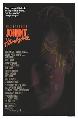 JOHNNY HANDSOME MOVIE POSTER 1 Sheet ORIGINAL ROLLED 27x41 MICKEY ROURKE