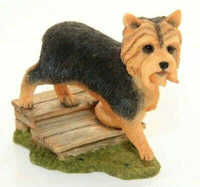 "Top Dogs ""Yorkshire Terrier on steps* No: 04434-rare"