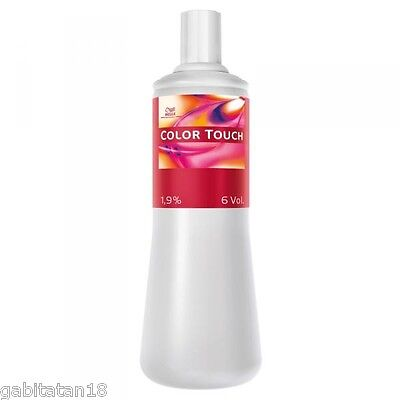 Wella Color Touch Developer 1.9% - 4% 1 liter 33.8 oz FREE SHIPPING WORLWIDE