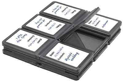 12 Slots Foldable Memory Card Case For Canon Powershot Elph 530 520 510 HS