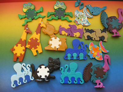 Puzzle Animali Vecchi  1983-1986-1988-1991-1992  Kinder Germania