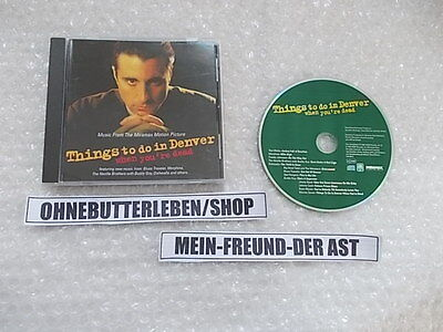CD OST Things To Do In Denver / Leben nach dem Tod in Denver (13 Song) A&M