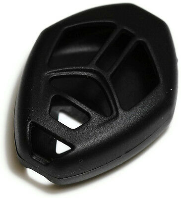 Black Key Fob Cover Jacket Silicon Pouch Bag fits Mitsubishi