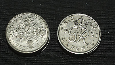 Old English Sixpence for Weddings, Yule & Prosperity Magic - Pagan, Wicca,