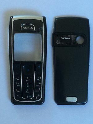 Brand New To Fit A Nokia 6230 Fascia Housing Cover Black Keypad