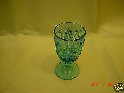 """EAPG 2oz Wine Glass - Bryce Brothers """"Tiny Finecut & Panel"""" c:1880's-90's"""