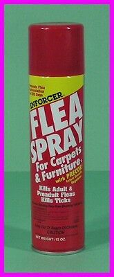 ** Enforcer Flea & Tick Spray for Carpets and Furniture with PRECOR IGR NEW **